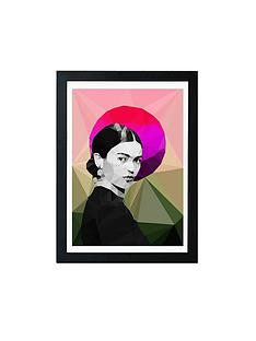 east-end-prints-frida-sunrise-by-studio-cockatoo-a3-framed-wall-art
