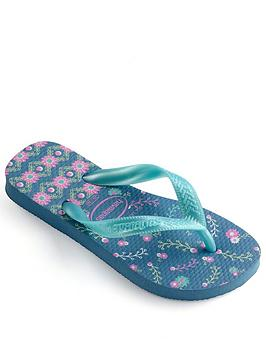 havaianas-girls-flores-flip-flop-blue