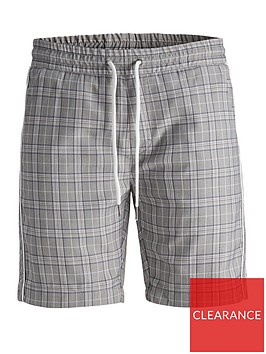 jack-jones-john-check-shorts-grey
