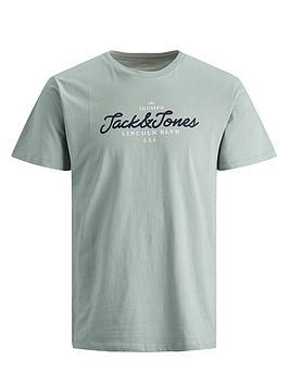 jack-jones-anthony-logo-t-shirt-green