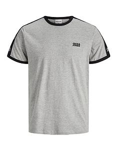 jack-jones-logo-tape-ringer-t-shirt-grey