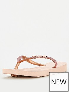 havaianas-girls-slim-shiny-flip-flop-rose-gold
