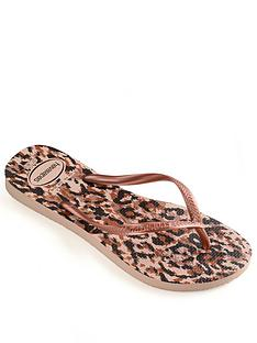 havaianas-girls-slim-animal-flip-flop-rose-gold