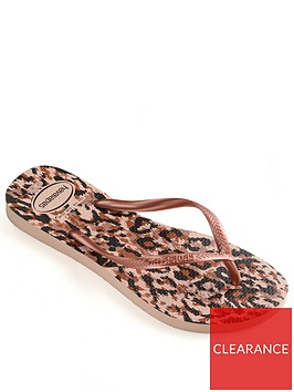 havaianas-girls-slim-animal-flip-flop-rose-gold