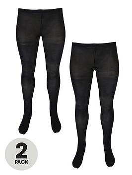 junarose-curve-junas-2-pack-tights-black