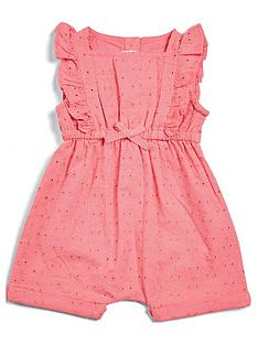 mamas-papas-baby-girls-broderie-frill-romper-pink