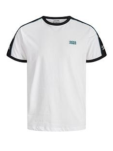 jack-jones-logo-tape-ringer-t-shirt-white