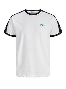 jack-jones-logo-tape-ringer-t-shirt-white