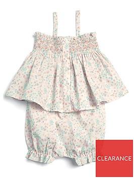 mamas-papas-baby-girls-printed-sun-top-short-set-multi