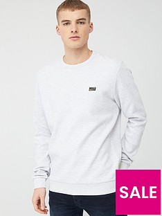 jack-jones-core-juan-sweat-crew-neck-top-white-melange