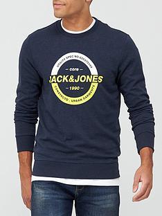 jack-jones-core-strong-logo-sweatshirt-sky-captain