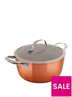 tower-24cm-copper-forged-casserole-pan