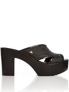 melissa-vivienne-westwood-orb-logo-platform-mule-heeled-sandals-black