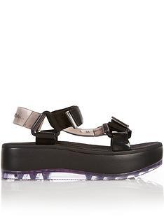 melissa-rider-papete-sporty-platform-sandals-black