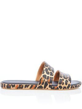 melissa-colour-pop-leopard-slider-flip-flops-leopard