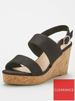 v-by-very-giselle-wide-fit-double-strap-wedge-sandal-black