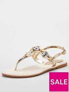 v-by-very-halo-leather-toe-post-embellished-sandal-natural