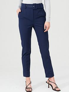v-by-very-belted-straight-leg-trousers-navy