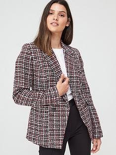 v-by-very-boucle-military-jacket-multi