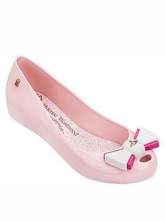 melissa-vivienne-westwood-ultragirl-bow-orb-ballet-pumpsnbsp--pink