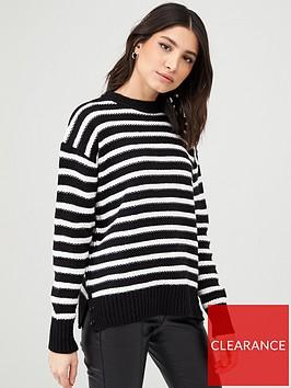 v-by-very-stripe-round-neck-jumper-black-stripe