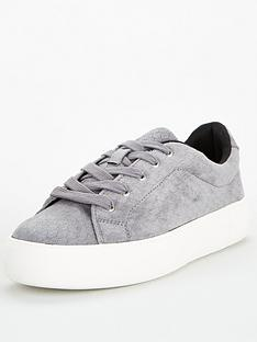 v-by-very-molly-textured-lace-up-trainer-blue