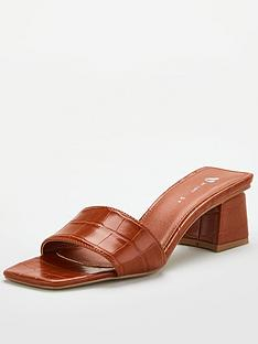 v-by-very-braxton-square-toe-low-block-heel-mule-tan