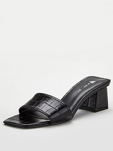 v-by-very-braxton-square-toe-low-block-heel-mule-black