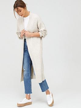 v-by-very-longline-balloon-sleeve-cardigan-oatmeal