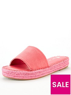 v-by-very-hydra-colour-flood-espadrille-slider-pink