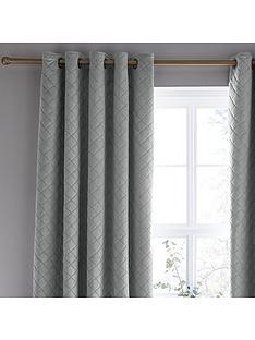 catherine-lansfield-so-soft-luxe-velvet-eyelet-curtains
