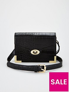 v-by-very-metal-trim-crossbody-bag-black