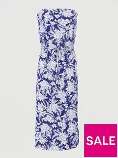 v-by-very-bardot-channel-waist-jersey-midi-dress-navy-print