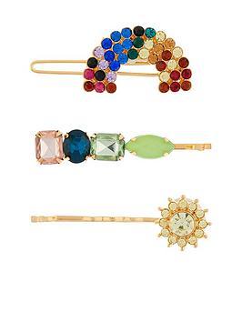 accessorize-3x-rainbow-jewel-hair-slides