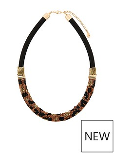 accessorize-botswana-camo-beaded-collar