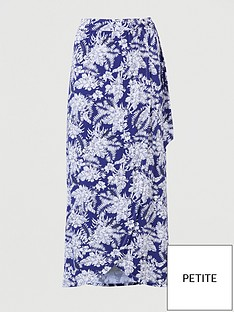 v-by-very-petite-wrap-jersey-maxi-skirt-navyprint