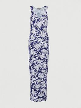 v-by-very-v-neck-jersey-maxi-dress-navy-print