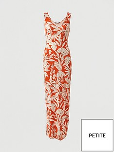 v-by-very-petite-scoop-neck-jersey-maxi-dress-orange-print