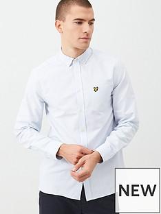 lyle-scott-fine-stripe-shirt-light-blue