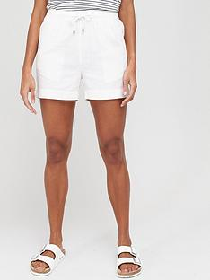 v-by-very-linen-mix-shorts-white