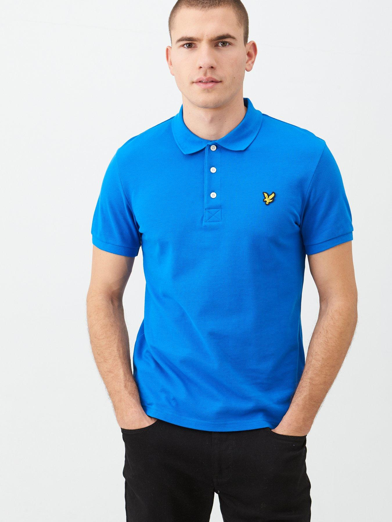 Loo Show Mens Retired Embroidery Polo Shirts Men Tee