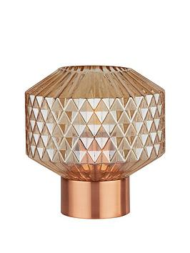 textured-amber-glass-table-lamp