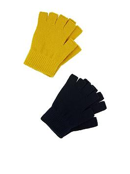 accessorize-fingerless-rec-glove-2pk