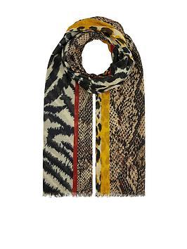 accessorize-animal-patchwork-stole