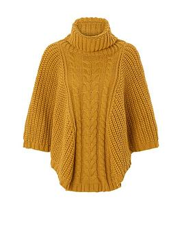 accessorize-chunky-cable-poncho