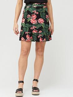 v-by-very-frill-hem-jersey-mini-skirt-black-print