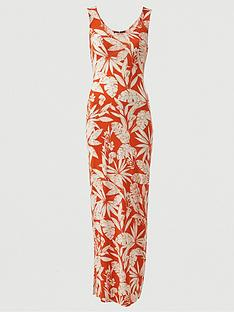 v-by-very-scoop-neck-jersey-maxi-dress-orange-print