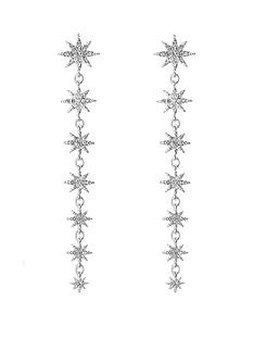 mood-mood-silver-plated-crystal-star-linear-drop-earrings