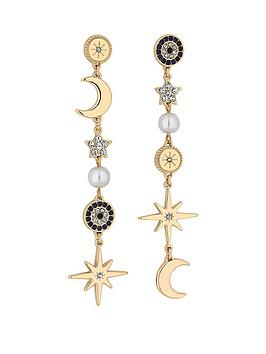 mood-gold-plated-celestial-star-and-moon-drop-earrings