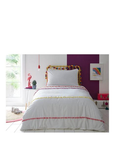 appletree-pom-pom-stripe-duvet-cover-set